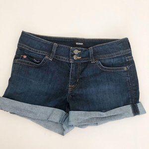 Hudson Dark Jean Shorts